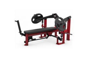 Жим от груди лежа со сведением с независимыми рычагами Gym80 Pure Kraft 4331