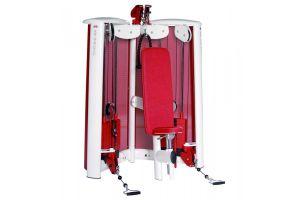 Блочная станция жим от плеч скручивание Gym80 Sygnum Cable Art 5105