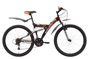 Велосипед Black One Flash FS 26 (2017)